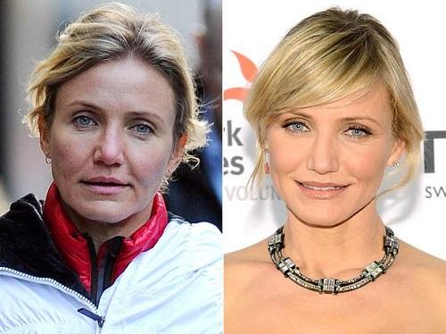 ¿Quieres saber cómo son las famosas sin maquillar?