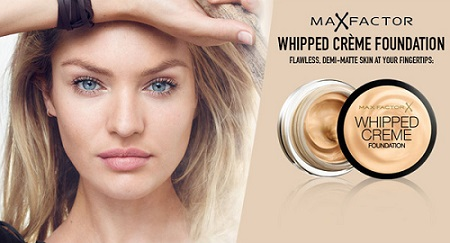 Whipped Cream Foundation de Max Factor para pieles sensibles