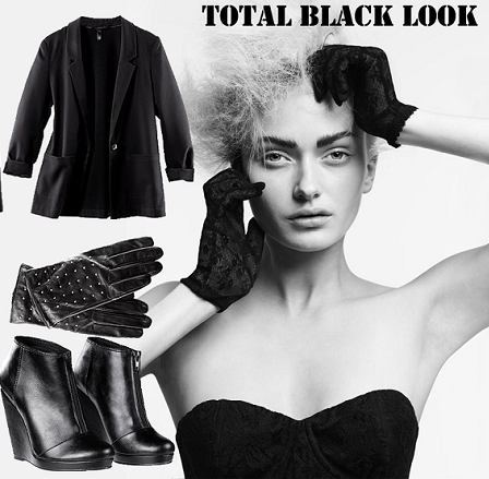 ¿Total Black para Nochevieja?