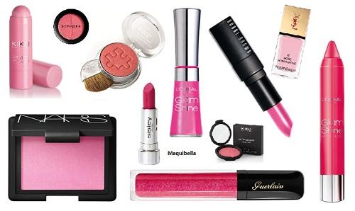 Sí al maquillaje y labios rosas chicle