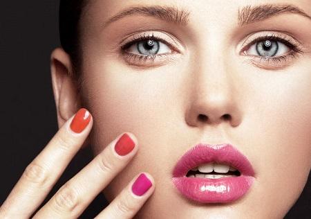La era del rosa – Maquillaje Primavera 2014