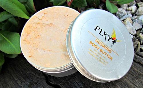 ¡Cuerpo luminoso con Glowing Body Butter de Pixy!