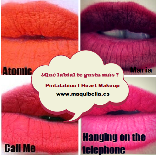 Review labiales Super Wow I Heart Makeup
