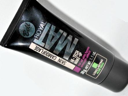 Opinión sobre la Base de maquillaje Royal Mat Skin de Bell