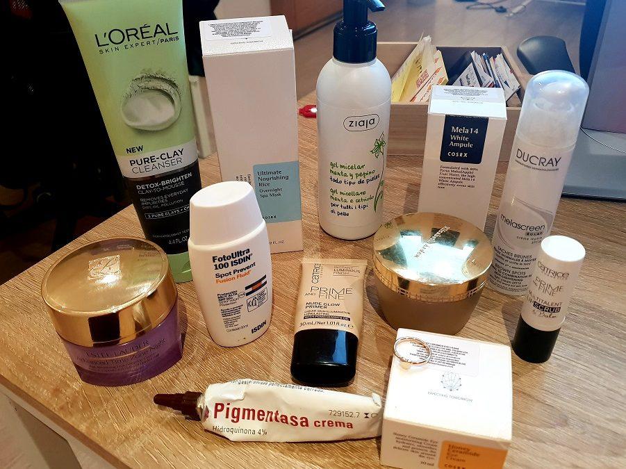 Ritual de belleza – Cosméticos para iluminar el rostro