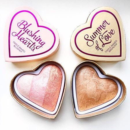 mis blushing hearts preferidos
