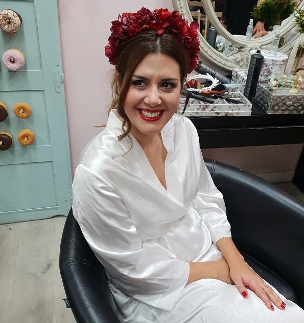 Tocados de novias – Novias con coronas de flores